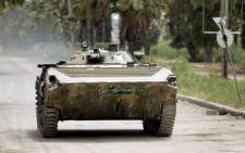 FILE: A Syrian army tank. Picture: AFP