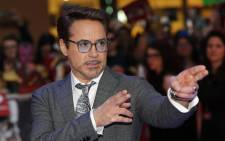 US actor Robert Downey Jr. poses on the red carpet arriving for the European Premiere of the film Captain America: Civil War in London on 26 April 2016. Picture: Adrian Dennis/AFP.