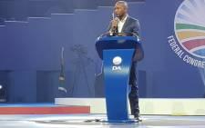 Democratic Alliance (DA) leader Mmusi Maimane at the DA congress on Saturday 8 March 2018. Picture: Twitter/@Our_DA