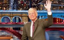 David Letterman. Picture: Facebook.