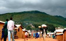 A view of a refugee camp in Rwanda. Picture: UNHCR/Anouck Bronee