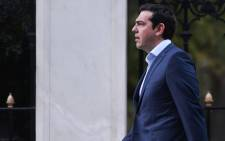 Voters gave Tsipras and his Syriza party a second chance to tackle Greece's problems. Picture: AFP.