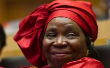 African Union (AU) Chairperson Nkosazana Dlamini-Zuma delivered the 14th annual Steve Biko Memorial Lecture at the University of Cape Town on Wednesday 2 October 2013. Picture: Ntswe Mokoena/GCIS