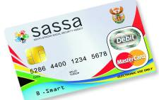 FILE: Sassa card. Picture: Twitter/€@OfficialSASSA.