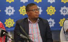 FILE: Police Minister Fikile Mbalula. Picture: Christa Eybers/EWN.