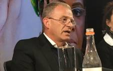 Advocate Gerrie Nel speaks at an AfriForum briefing on its plan to support Gabriella Engels, who claims that she was assaulted by Grace Mugabe. Picture: Hitekani Magwedze/EWN