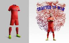 Nike have released a new away kit for Barcelona's 2014/15 away season. Picture: Supplied/EWN.