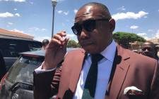 FILE: Mduduzi Manana leaves the Randburg magistrates court on 7 November  2017. Picture: Christa Eybers/EWN
