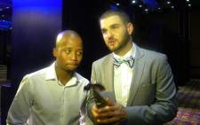 Micasa with one of their SAMA Awards