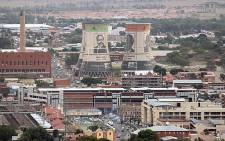 NC branded cooling towers in Mangaung. Picture: Taurai Maduna/EWN