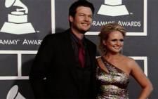 Blake Shelton and Miranda Lambert in picture.Picture :CNN/screengrab