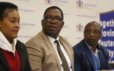Gauteng Education MEC Panyaza Lesufi attends a meeting with community members of Klipspruit on 26 July 2017. Picture: Christa Eybers/EWN