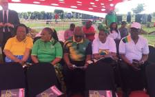 ANC leaders pictured on 6 January 2016 while commemorating the life of Joe Slovo in Soweto. Picture: Victor Magwedze/EWN.