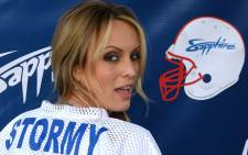 Adult-film actress Stormy Daniels. Picture: AFP
