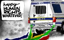 Jerm takes a hard look at SA's new Human Rights struggle.