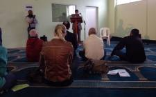 """FILE: The """"open Mosque's"""" founder Taj Hargey rejecting """"with contempt"""" the violent Islamist groups operating in the world on 19 September 2014. Picture: Aletta Garner/EWN"""