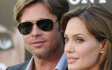 FILE: Brad Pitt and Angelina Jolie arrive at the premiere of Sony Pictures' 'Salt'. Picture: AFP