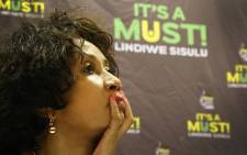 FILE: Lindiwe Sisulu, who's an ANC presidential candidate, was open about her decision to accept the nomination. Picture: Bertram Malgas/EWN.