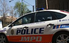 Patrol vehicle of the Johannesburg Metro Police Department (JMPD). Picture: EWN