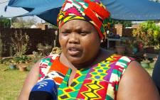 FILE: Gauteng Community Safety MEC Sizakele Nkosi-Malobane. Picture: Louise McAuliffe/EWN.