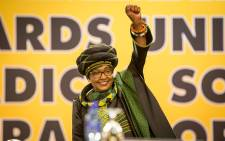 ANC stalwart Winnie Madikizela-Mandela inside the plenary at the party's 54th national conference on 16 December 2017. Picture: Thomas Holder/EWN