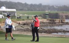 Ted Potter wins the Pebble Beach Pro-Am on 11 February 2018. Picture: @attproam/Twitter