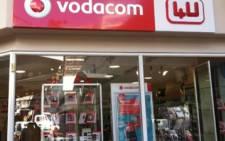FILE: A Vodacom store in Johannesburg. Picture: EWN.