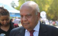 Pravin Gordhan at Ahmed Kathrada's funeral on 29 March 2017. Picture: Christa Eybers/EWN