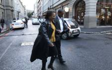 Western Cape mayor Patricia De Lille on her way to the Western Cape High Court on 27 June 2018. Picture: Kevin Brandt/EWN