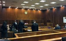 The Johannesburg High Court prepares for the pre-trial hearing of the man accused of sexually assaulting over 20 children at Parktown Boys High. Picture: EWN