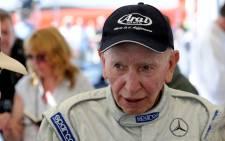 Former Britsh F1 driver John Surtees. Picture: Twitter/@MercedesAMGF1.