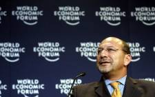 FILE: Trevor Manuel at a World Economic Forum meeting. Picture: World Economic Forum.