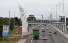 An e-toll gantry on the N1 in Johannesburg. Picture: Christa van der Walt/EWN