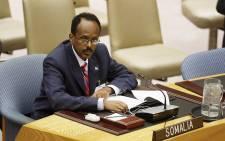 Somali President Mohamed Abdullahi Farmajo. Picture: United Nations.
