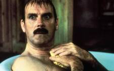 British actor John Cleese in the film Clockwise. Picture: AFP