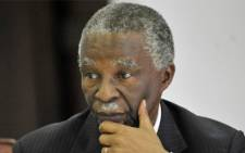 Former president Thabo Mbeki. Picture: AFP.