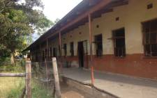 One of the schools damaged during protests in Vuwani last year. Picture: EWN.