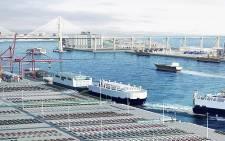 A view of the Pyeongtaek-Dangjin port. Picture: pyeongtaek.mof.go.kr