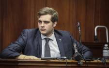 Murder accused Henri van Breda in the Western Cape High Court on 6 November 2017. Picture: Cindy Archillies/EWN