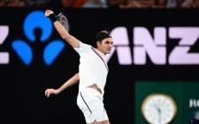 Switzerland's Roger Federer. Picture: @AustralianOpen
