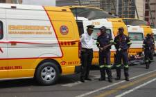 Emergency Services. Picture: EWN