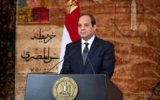 President Abdel Fattah al-Sisi. Picture: @AlsisiOfficial/Twitter