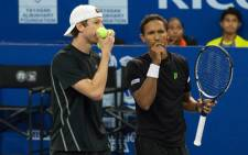 South African Davis Cup star Raven Klaasen and his American double partner Eric Butorac. Picture: Facebook.