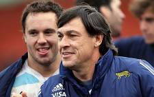 Pumas coach Daniel Hourcade. Picture: Facebook.