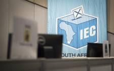 Inside the IEC's Western Cape results centre. Picture: Aletta Harrison/EWN.