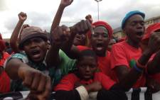 FILE: Economic Freedom Fighters supporters. Picture: Barry Bateman/EWN.
