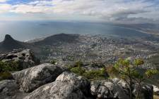 FILE: Table Bay and the city of Cape Town viewed from the top of the world heritage site Table Mountain in Cape Town. Picture: Nic Bothma/EPA.