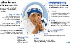 Short profile of Mother Teresa, who will be elevated to sainthood on Sunday in Rome.