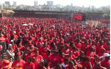The EFF's fourth birthday celebrations in Durban in KwaZulu-Natal. Picture: @EFFSouthAfrica
