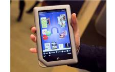 Barnes & Noble Inc Nook tablet with 16 GB. Picture:CNet.com
